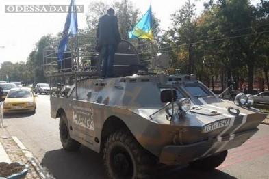 Саакашвили: Палица увез из Одессы 40 бронетранспортереов