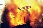 Ночной взрыв в центре Одессы