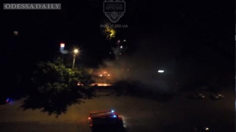 Ночью на посёлке Котовского горел рынок