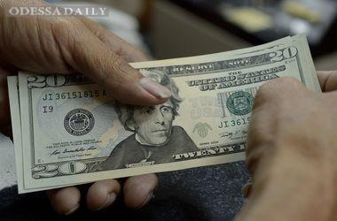 Курс доллара вырос на черном рынке Украины