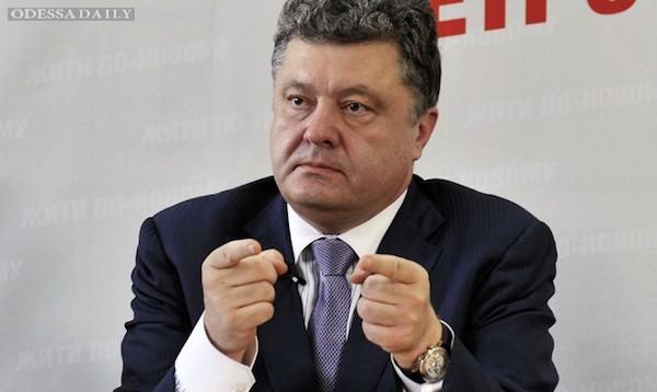Порошенко резко осудил ксенофобские высказывания в сторону Саакашвили