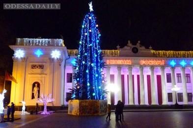 Главную елку Одессы зажгут 19 декабря