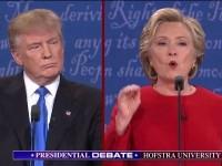 Клинтон переговорила Трампа на дебатах