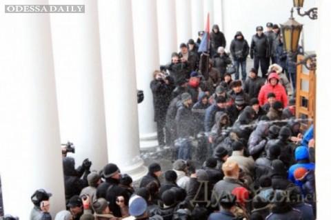 Губернатор Одесской области о штурме мэрии: «Это прямой путь к анархии»