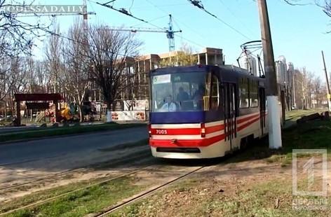 Большинство одесских трамваев и троллейбусов работают по сокращенному маршруту