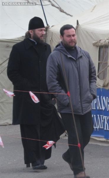 УПЦ Московского Патриархата в Одессе поддерживает сепаратистов