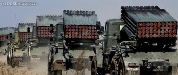 Боевики 36 раз обстреляли силы АТО, о потерях не сообщается