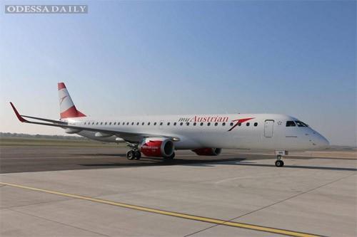 Австрийская авиакомпания вдвое увеличит число рейсов в Одессу и Львов