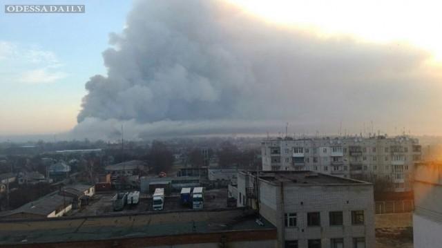 В Балаклее увеличился район возгорания, – Минобороны