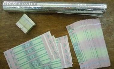 В Ильичевске задержана партия в 2,5 млн поддельных акцизных марок
