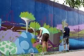 Мэрия объявила конкурс лучших рисунков в стиле граффити