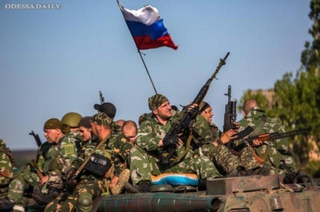 Сводка ИС: боевики активно усиливают бронегруппы на передовой, а из РФ им подбросили еще 180 российских наемников