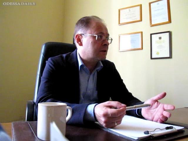Интервью Марата Касимова о Генплане Одессы (Видео)
