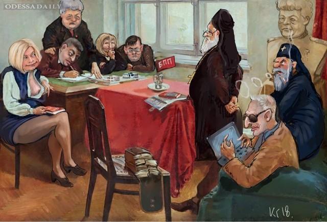 Михаил Голубев: О карикатуре художника Ключника
