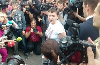 Савченко дала свой первый комментарий по возвращении в Украину