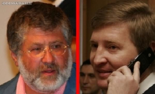 Канал Ахметова затеял тяжбу против сайта Коломойского