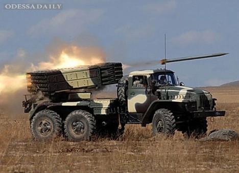 Сводка ИС: возросло количество обстрелов с территории России, в т.ч. из РСЗО Смерч