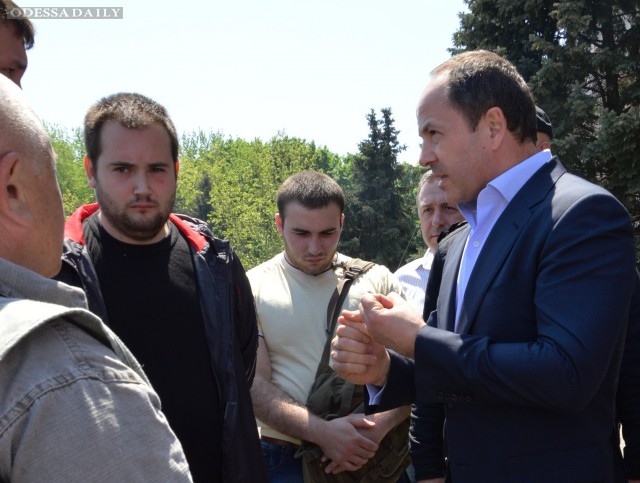 Сергей Тигипко: События в Одессе доказали, что есть явные силы, заинтересованные в дестабилизации ситуации в стране
