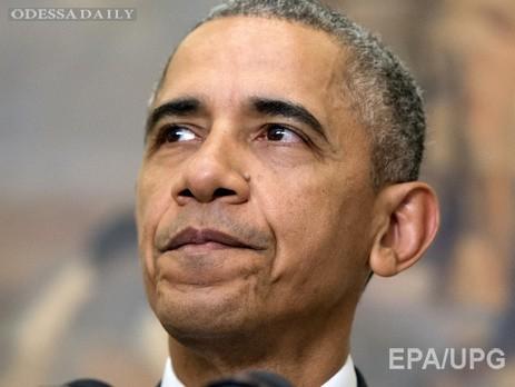 Обама подписал оборонный бюджет США, позволяющий начать поставки оружия Украине