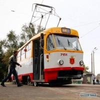 ДТП остановило движение четырех трамваев в центре Одессы