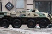 В оккупированном Луганске не работают радио и ТВ, закрываются банки
