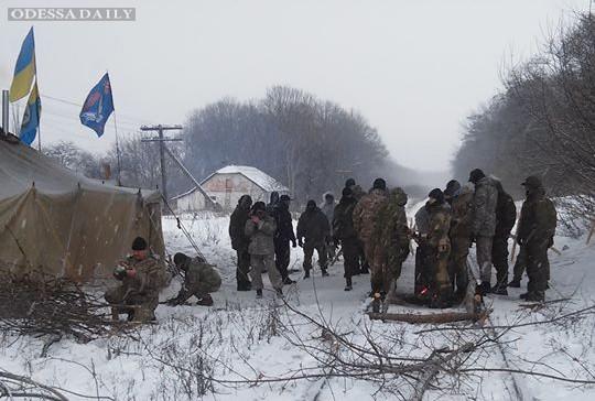 Участники блокады ОРДЛО подумывают создать вооруженные блокпосты