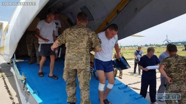 В Одессу доставили 14 раненых бойцов АТО, двое – в реанимации