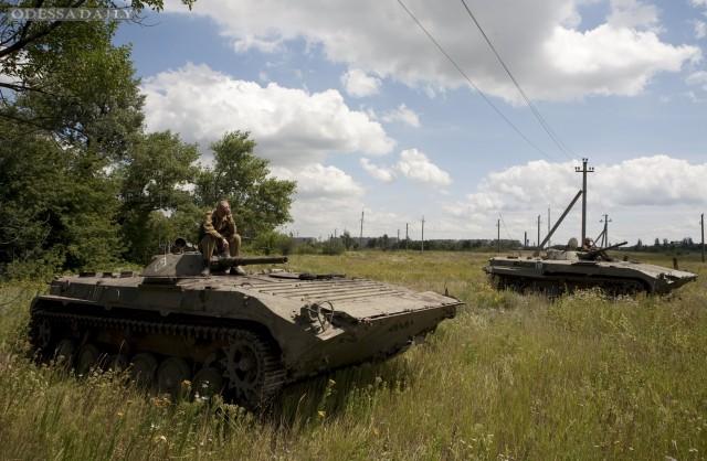 Сводка ИС: под Широкино боевики перебросили танки, а в Дебальцево ждут секретный эшелон из РФ