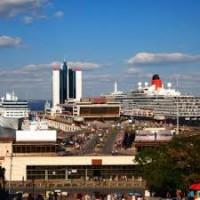 Круизный сезон: количество судозаходов в порты Одессы, Севастополя и Ялты выросло на 20%