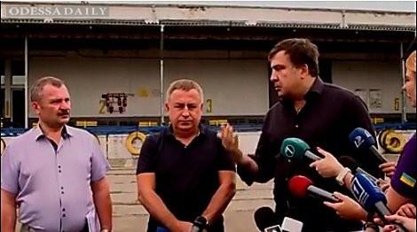 «Со времени Юры Енакиевского мало что изменилось к лучшему», - Саакашвили о коррупции на одесской таможне