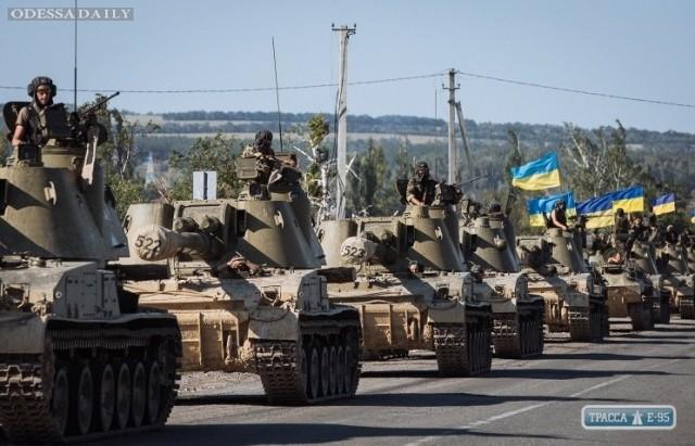 «Ватников» Одесской иНиколаевской областей просят не беспокоиться из-за перемещения военной техники