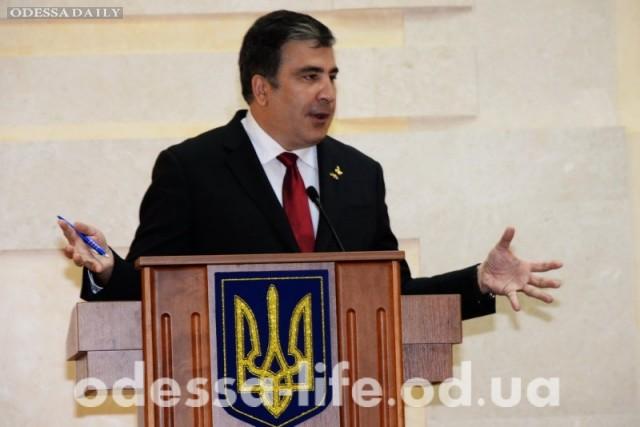 Саакашвили на встрече с Порошенко рассказал о «тунеядцах»