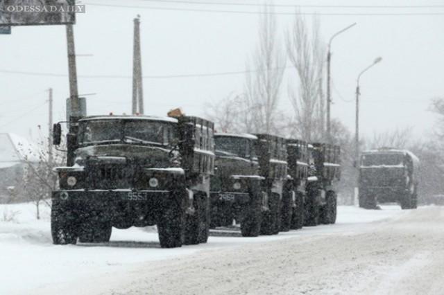 Миссия ОБСЕ зафиксировала более 100 военных грузовиков в районе Донецка