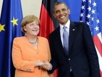 Меркель убедила Обаму не давать Украине оружия