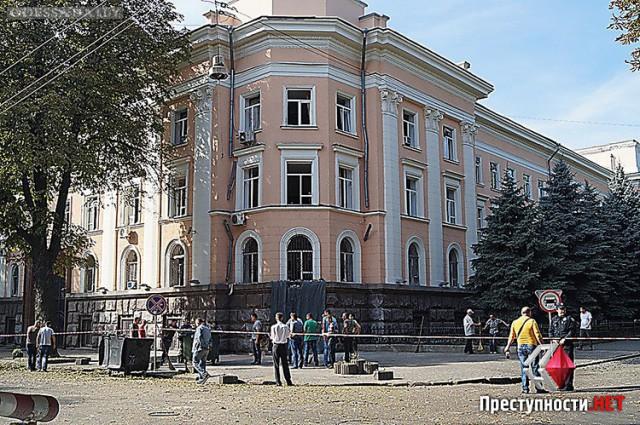 Подрыв здания СБУ будет расследовать прибывшая в Одессу группа из Центрального аппарата службы безопасности