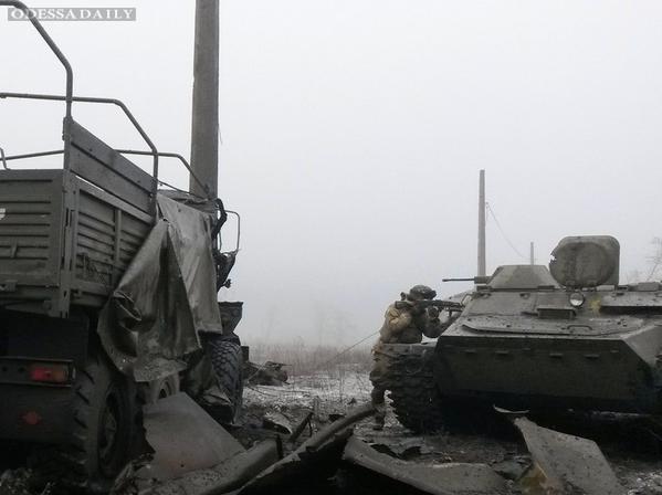 За сутки армия уничтожила более 200 террористов - штаб АТО