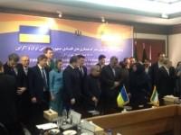 Украина и Иран подписали меморандум об экономическом сотрудничестве