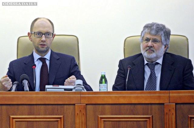 Порошенко и Яценюк просто обязаны уволить Коломойского после событий вокруг Укртранснафты - Найем