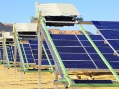 В Израиле солнечная станция полностью обслуживается роботами