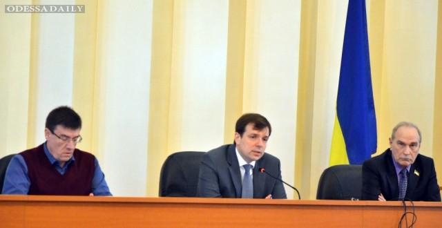 Николай Скорик создает свою депутатскую группу в Одесском областном совете
