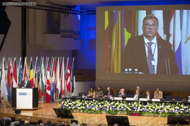 ПА ОБСЕ признала действия России военной агрессией против Украины
