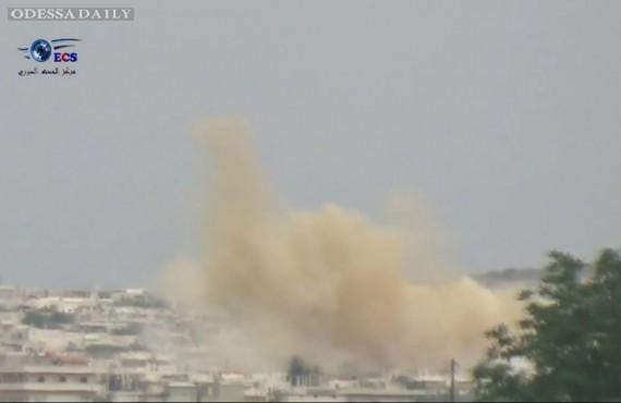 В Сирии совершили новую химическую атаку