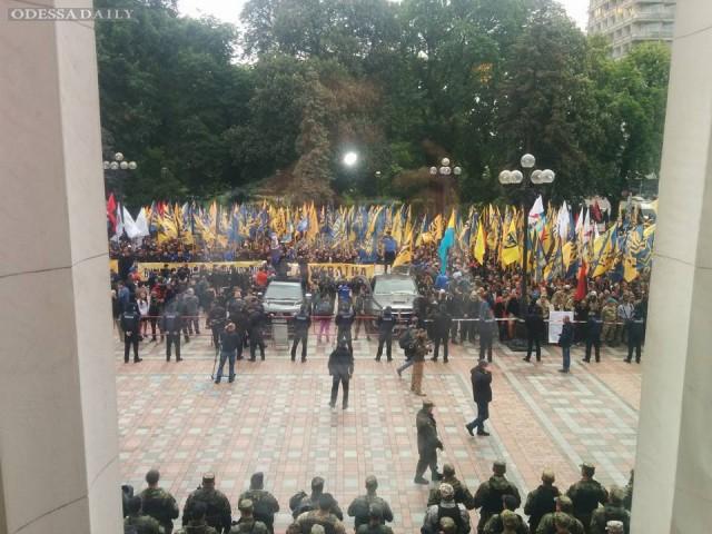 «Азов» оставляет за собой право на любые действия в случае невыполнения требований марша, — Билецкий