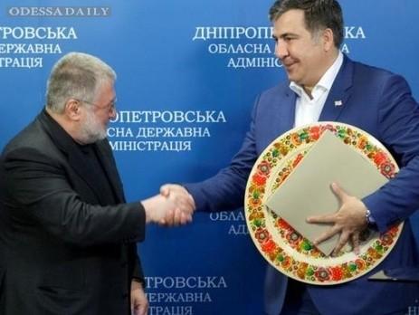 Коломойский выиграл суд против Саакашвили по защите чести, достоинства и деловой репутации