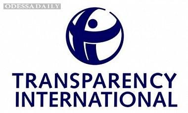 TI: Год борьбы с коррупцией в Украине едва повлиял на ситуацию