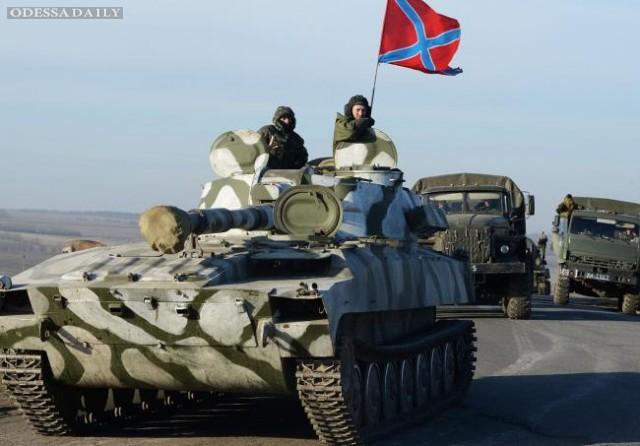 Сводка ИС: под видом «отвода вооружений» боевики создают ударную группу на Артемовском направлении
