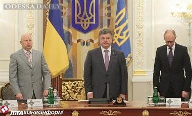 Порошенко рассчитывает на дальнейшую совместную работу с Яценюком