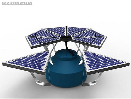 PhotoFlow соберет солнечную энергию и дождевую воду
