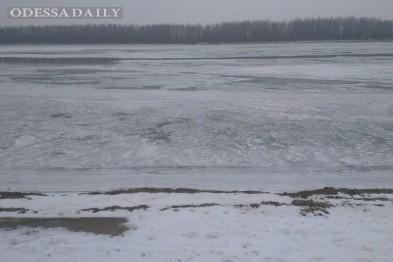 На юге Одесской области замерзла крупнейшая река Европы