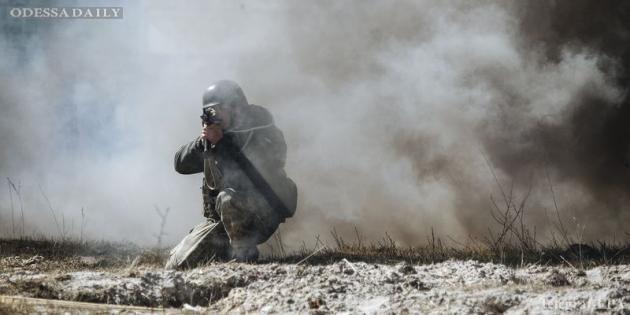 Силы АТО отбили атаку ДРГ боевиков в районе Опытного, - штаб